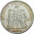 Photo numismatique  MONNAIES MODERNES FRANÇAISES 3ème REPUBLIQUE (4 septembre 1870-10 juillet 1940)  5 francs 1877.