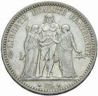 Photo numismatique  MONNAIES MODERNES FRANÇAISES 3ème REPUBLIQUE (4 septembre 1870-10 juillet 1940)  5 francs 1871.