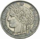 Photo numismatique  MONNAIES MODERNES FRANÇAISES 2ème RÉPUBLIQUE (24 février 1848-2 décembre 1852)  5 francs 1850.