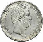 Photo numismatique  MONNAIES MODERNES FRANÇAISES LOUIS-PHILIPPE Ier (9 août 1830-24 février 1848)  5 francs 1831.