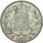 Photo numismatique  MONNAIES MODERNES FRANÇAISES CHARLES X (16 septembre 1824-2 août 1830)  5 francs 1830.