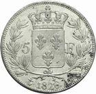 Photo numismatique  MONNAIES MODERNES FRANÇAISES CHARLES X (16 septembre 1824-2 août 1830)  5 francs 1826.