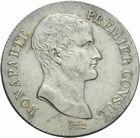 Photo numismatique  MONNAIES MODERNES FRANÇAISES LE CONSULAT (à partir du 24 décembre 1799-18 mai 1804) Bonaparte 1er Consul 5 francs an 12.