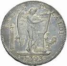 Photo numismatique  MONNAIES MODERNES FRANÇAISES LA CONVENTION (22 septembre 1792 - 26 octobre 1795)  Ecu de 6 livres 1793.