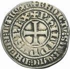 Photo numismatique  MONNAIES ROYALES FRANCAISES PHILIPPE IV LE BEL (5 octobre 1285-30 novembre 1314)  Gros tournois � l'O rond.
