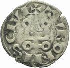 Photo numismatique  MONNAIES ROYALES FRANCAISES LOUIS VIII (1223-1226) ou LOUIS IX (1226-1270)  Denier tournois.