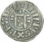 Photo numismatique  MONNAIES ROYALES FRANCAISES PHILIPPE I (1060-1108)  Denier d'Orl�ans, 1er type.