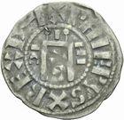 Photo numismatique  MONNAIES ROYALES FRANCAISES PHILIPPE Ier (4 août 1060-29 juillet 1108)  Denier d'Orléans, 1er type.