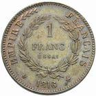 Photo numismatique  MONNAIES MODERNES FRANÇAISES NAPOLEON II, (20 mars 1811-22 juillet 1832)  Essai de 1 frnac daté 1816.