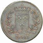 Photo numismatique  MONNAIES MODERNES FRANÇAISES LOUIS XVIII, 2e restauration (8 juillet 1815-16 septembre 1824)  Essai du module de 40 francs.