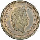 Photo numismatique  MONNAIES MODERNES FRANÇAISES LOUIS-PHILIPPE Ier (9 août 1830-24 février 1848)  Essai de un décime.