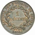 Photo numismatique  MONNAIES MODERNES FRANÇAISES LOUIS-PHILIPPE Ier (9 août 1830-24 février 1848)  Essai de 1 décime.