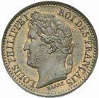 Photo numismatique  MONNAIES MODERNES FRANÇAISES LOUIS-PHILIPPE Ier (9 août 1830-24 février 1848)  Essai de 1 centime.