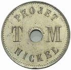 Photo numismatique  MONNAIES MODERNES FRANÇAISES 3ème REPUBLIQUE (4 septembre 1870-10 juillet 1940)  Projet 1 de T. Michelin, 1889.