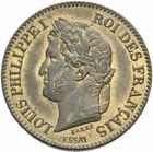 Photo numismatique  MONNAIES MODERNES FRANÇAISES LOUIS-PHILIPPE Ier (9 août 1830-24 février 1848)  Essai de 2 centimes 1846.