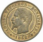 Photo numismatique  MONNAIES MODERNES FRANÇAISES LOUIS-NAPOLEON BONAPARTE Prince-Président (2 décembre 1851-2 décembre 1852)  Essai de 10 centimes 1852.