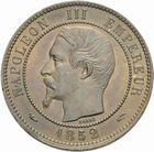 Photo numismatique  MONNAIES MODERNES FRANÇAISES NAPOLEON III, empereur (2 décembre 1852-1er septembre 1870)  Dix centimes 1852 A.