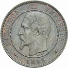 Photo numismatique  MONNAIES MODERNES FRANÇAISES NAPOLEON III, empereur (2 décembre 1852-1er septembre 1870)  10 centimes 1853 BB.