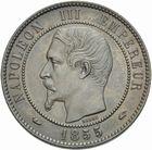 Photo numismatique  MONNAIES MODERNES FRANÇAISES NAPOLEON III, empereur (2 décembre 1852-1er septembre 1870)  10 centimes 1855 A.