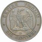 Photo numismatique  MONNAIES MODERNES FRANÇAISES NAPOLEON III, empereur (2 décembre 1852-1er septembre 1870)  10 centimes 1856 D.