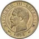Photo numismatique  MONNAIES MODERNES FRANÇAISES NAPOLEON III, empereur (2 décembre 1852-1er septembre 1870)  5 centimes 1853 A.