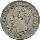 Photo numismatique  MONNAIES MODERNES FRANÇAISES NAPOLEON III, empereur (2 décembre 1852-1er septembre 1870)  5 centimes 1855 W.