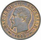 Photo numismatique  MONNAIES MODERNES FRANÇAISES NAPOLEON III, empereur (2 décembre 1852-1er septembre 1870)  5 centimes 1854 A.
