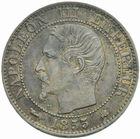 Photo numismatique  MONNAIES MODERNES FRANÇAISES NAPOLEON III, empereur (2 décembre 1852-1er septembre 1870)  5 centimes 1855 K.
