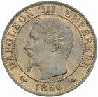 Photo numismatique  MONNAIES MODERNES FRANÇAISES NAPOLEON III, empereur (2 décembre 1852-1er septembre 1870)  5 centimes 1856 BB.