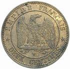 Photo numismatique  MONNAIES MODERNES FRANÇAISES NAPOLEON III, empereur (2 décembre 1852-1er septembre 1870)  2 centimes 1853 W.