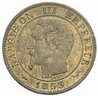 Photo numismatique  MONNAIES MODERNES FRANÇAISES NAPOLEON III, empereur (2 décembre 1852-1er septembre 1870)  1 centime 1853 W.
