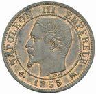 Photo numismatique  MONNAIES MODERNES FRANÇAISES NAPOLEON III, empereur (2 décembre 1852-1er septembre 1870)  1 centime 1855 D.