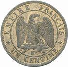 Photo numismatique  MONNAIES MODERNES FRANÇAISES NAPOLEON III, empereur (2 décembre 1852-1er septembre 1870)  1 centime 1855 MA.