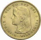 Photo numismatique  MONNAIES MONNAIES DU MONDE PAYS-BAS WILHELMINE (1890-1948) 10 gulden 1897 or.