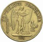 Photo numismatique  MONNAIES MODERNES FRANÇAISES 3ème REPUBLIQUE (4 septembre 1870-10 juillet 1940)  20 francs or 1871.