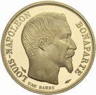 Photo numismatique  MONNAIES MODERNES FRANÇAISES LOUIS-NAPOLEON BONAPARTE Prince-Président (2 décembre 1851-2 décembre 1852)  10 francs 1852-1993 or.