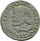 Photo numismatique  MONNAIES MONNAIES DU MONDE ITALIE PESARO, Giovanni Sforza (1489-1500) et (1503-1510) Soldo.
