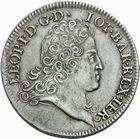 Photo numismatique  MONNAIES BARONNIALES Duché de LORRAINE LEOPOLD Ier (1690-1729) Aubonne de 1724.
