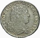Photo numismatique  MONNAIES BARONNIALES Duché de LORRAINE LEOPOLD Ier (1690-1729) Teston 1705 de flan neuf.