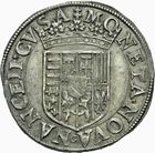 Photo numismatique  MONNAIES BARONNIALES Duché de LORRAINE CHARLES III (1545-1608) Teston à col plat.