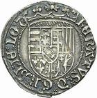 Photo numismatique  MONNAIES BARONNIALES Duché de LORRAINE RENE II (1473-1508) Demi-plaque ou gros.