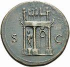 Photo numismatique MONNAIES EMPIRE ROMAIN NERON (54-68) Sesterce.