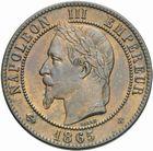 Photo numismatique  MONNAIES MODERNES FRANÇAISES NAPOLEON III, empereur (2 décembre 1852-1er septembre 1870)  Dix centimes 1865.