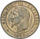 Photo numismatique  MONNAIES MODERNES FRANÇAISES NAPOLEON III, empereur (2 décembre 1852-1er septembre 1870)  Dix centimes 1862.