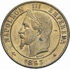 Photo numismatique  MONNAIES MODERNES FRANÇAISES NAPOLEON III, empereur (2 décembre 1852-1er septembre 1870)  Dix centimes 1863.