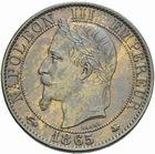 Photo numismatique  MONNAIES MODERNES FRANÇAISES NAPOLEON III, empereur (2 décembre 1852-1er septembre 1870)  Cinq centimes 1865.