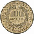 Photo numismatique  MONNAIES MODERNES FRANÇAISES 3ème REPUBLIQUE (4 septembre 1870-10 juillet 1940)  10 centimes 1874.