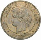 Photo numismatique  MONNAIES MODERNES FRANÇAISES 3ème REPUBLIQUE (4 septembre 1870-10 juillet 1940)  10 centimes 1876.