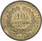 Photo numismatique  MONNAIES MODERNES FRANÇAISES 3ème REPUBLIQUE (4 septembre 1870-10 juillet 1940)  10 centimes 1883.