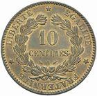 Photo numismatique  MONNAIES MODERNES FRANÇAISES 3ème REPUBLIQUE (4 septembre 1870-10 juillet 1940)  10 centimes 1885.